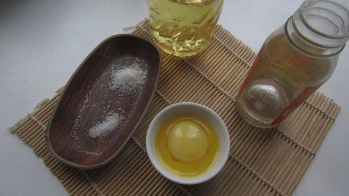 Ингредиенты для домашнего майонеза из желтков