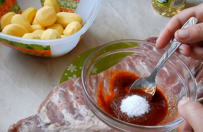 Приправа для мяса и картошки
