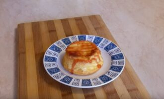 Творожный пудинг приготовленный в духовке