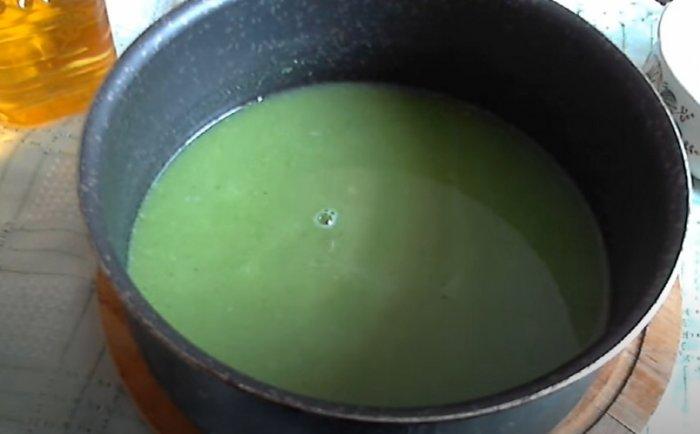 Диетически Суп-пюре из брокколи