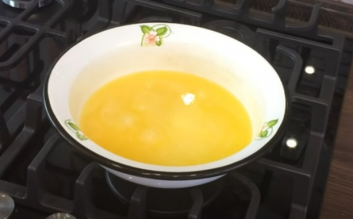 Растопленное сливочное масло