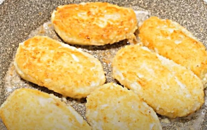 Капустные котлеты с картофелем